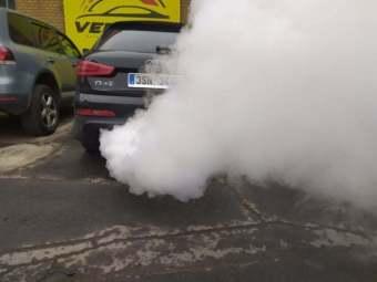 Dekarbonizace sání Audi Q3