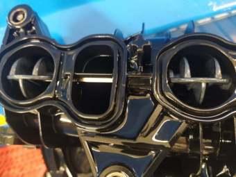 vyčištěné sání u BMW GT