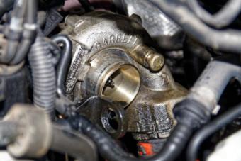 Zanesené turbodmychadlo